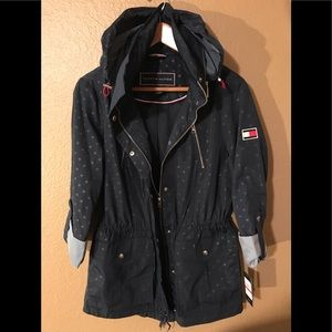 Tommy Hilfiger,rain/cooler weather jacket,size XS